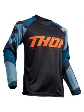Мотоджерси Thor S9 Sector Camo Blue