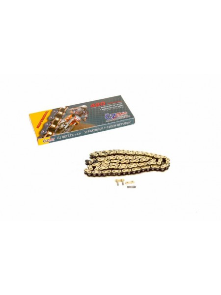Цепь CZ Chains 420 MX Gold - 110