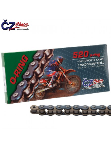 Цепь CZ Chains 520 ORM - 102 (O-Ring)
