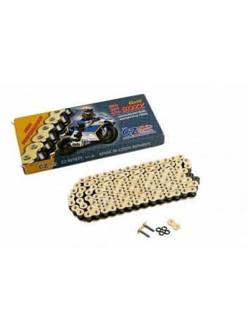 Цепь CZ Chains 525 SDZZ Gold - 112 (Active-Ring, усиленная)