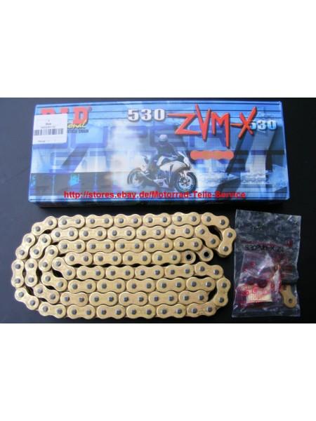 Цепь DID ZVM-X 530 G&G 110 звеньев