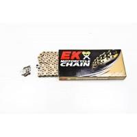 Цепь EK Chain 520 MVXZ 118 звеньев, QX-Ring, сталь