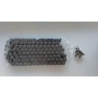 Цепь EK Chain 530MVXZ2 110 звеньев, QX-Ring, заклепка, сталь