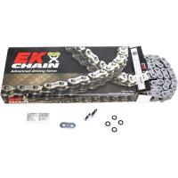 Цепь EK Chain 530ZVX3 122 звена QX-Ring, заклепка, золото