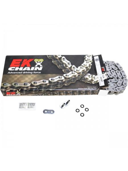 Цепь EK Chain 530MVXZ 112 звеньев, QX-Ring, желтая