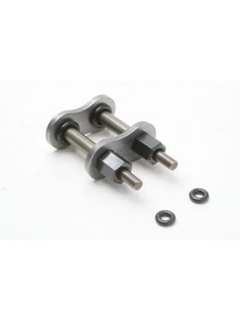 Замок для цепи EK 530SRX, QX-Ring закрутка, сталь