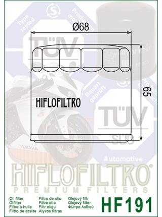 Масляный фильтр HifloFiltro Hf-191