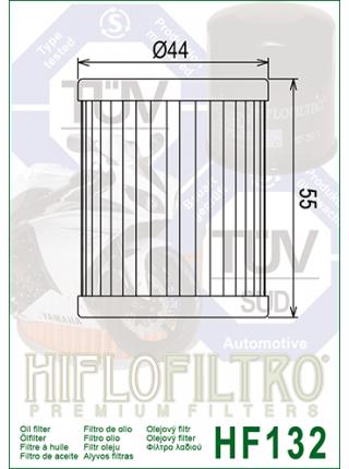Масляный фильтр HifloFiltro HF132