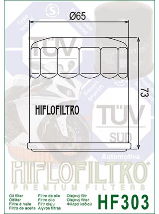 Масляный фильтр HifloFiltro Hf303