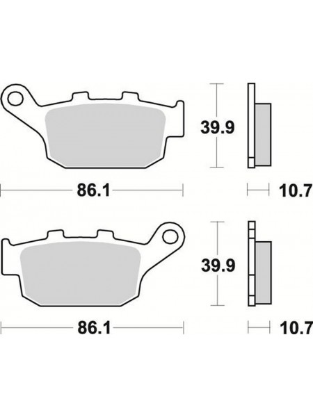 Тормозные колодки Braking 711CM56