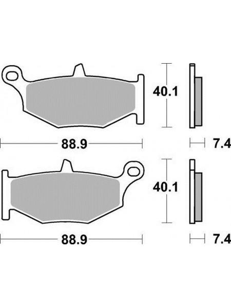 Тормозные колодки Braking 924sm1 Suzuki