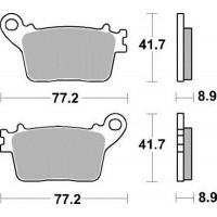 Тормозные колодки Braking 925CM1