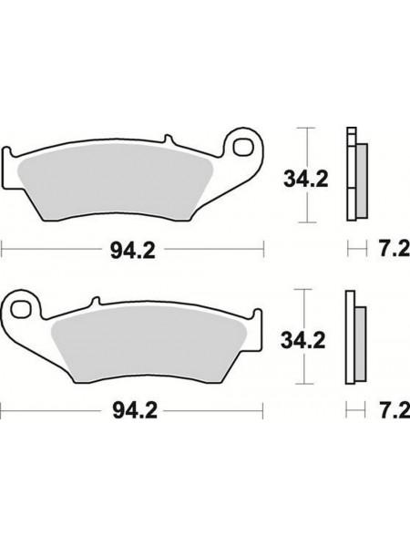 Тормозные колодки Braking 772CM44 Yamaha