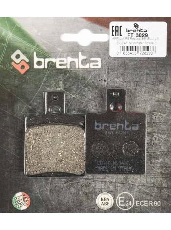 Тормозные колодки Brenta FT3029 Organic