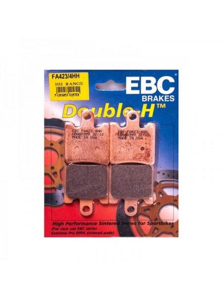 Тормозные колодки EBC FA423/4HH DOUBLE H Sintered (4 шт. в комплекте)