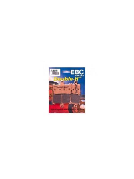 Тормозные колодки EBC FA499/4HH DOUBLE H Sintered