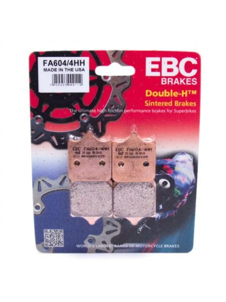 Тормозные колодки EBC FA604/4HH DOUBLE H Sintered