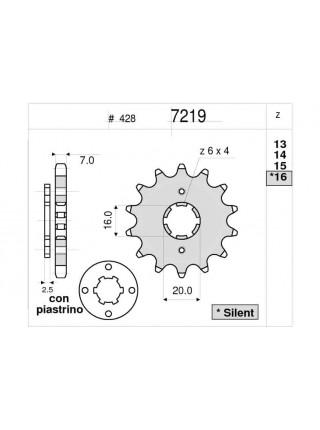 Звезда передняя (ведущая) Ognibene 7219-Z14 (JTF548.14) 367219Z14