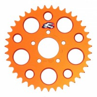 Звезда задняя Renthal Standard (Алюминий) #415 KTM, цвет - оранжевый