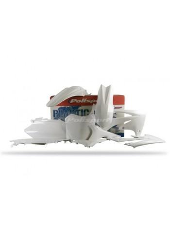 Комплект пластика Polisport на мотоцикл Honda CRF250R, CRF450R 2011-13 белый