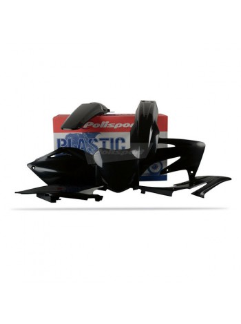Комплект пластика Polisport на мотоцикл Honda CRF250R, CRF450R 2014-17 черный