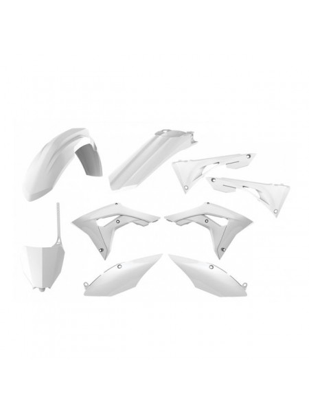 Комплект пластика Polisport на мотоцикл Honda CRF250R, CRF450R 2014-17 белый