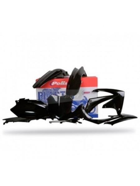 Комплект пластика Polisport на мотоцикл Honda CRF250R, CRF450R 2011-13 черный