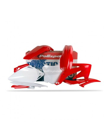 Комплект пластика Polisport на мотоцикл Honda CRF450R '2008 красный