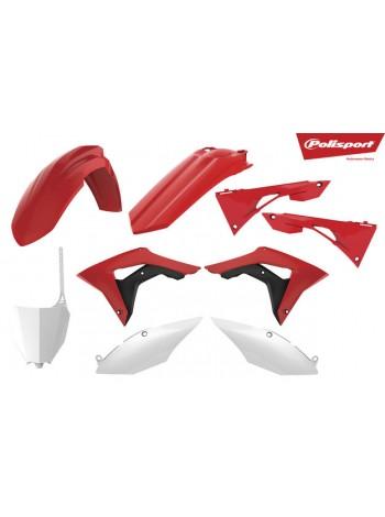 Комплект пластика Polisport на мотоцикл Honda CR125R, CR250R 2002-07