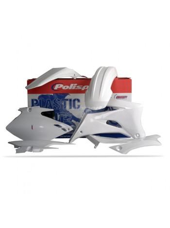 Комплект пластика Polisport на мотоцикл Yamaha YZ250F-450F 2006-09 белый