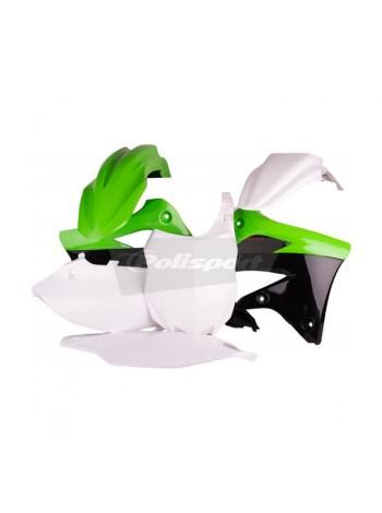 Комплект пластика Polisport на мотоцикл Kawasaki KX450F 2012 зеленый