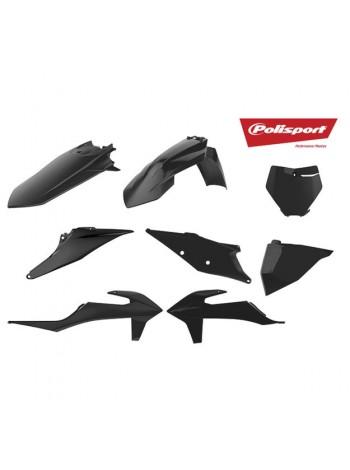 Комплект пластика Polisport на мотоцикл KTM SX, SX-F, XC-F 2016-18 черный