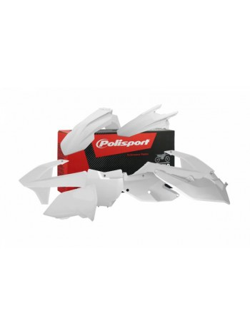 Комплект пластика Polisport на мотоцикл KTM SX, SX-F, XC-F 2016-18 белый