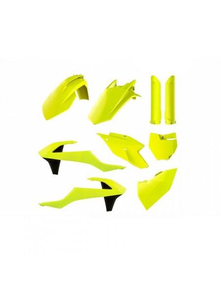 Комплект пластика Polisport на мотоцикл KTM SX, SX-F, XC-F 2016-18 желтый