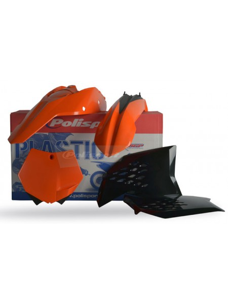Комплект пластика Polisport на мотоцикл KTM SX, SX-F 2007-10 оранжевый