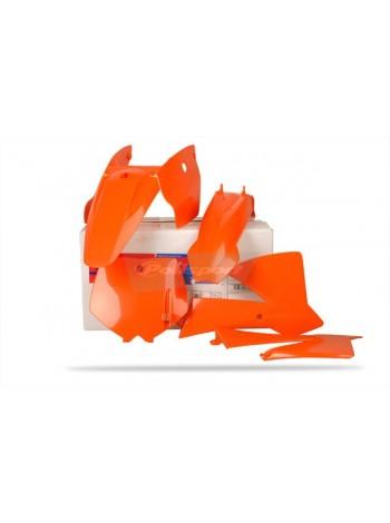 Комплект пластика Polisport на мотоцикл KTM SX65 2002-08 оранжевый