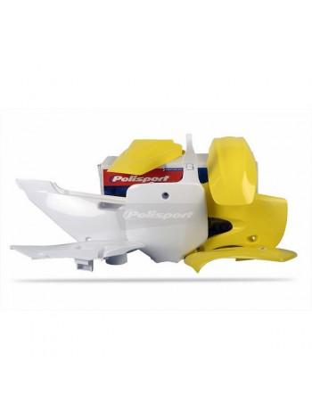 Комплект пластика Polisport на мотоцикл Suzuki RM65 2003-05 желтый