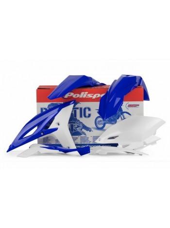 Комплект пластика Polisport на мотоцикл Yamaha WR450F 2012-15 бело-синий