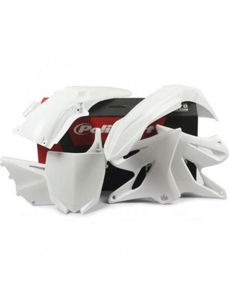 Комплект пластика Polisport на мотоцикл Yamaha YZ125-250 2015-19 белый