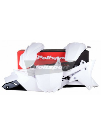 Комплект пластика Polisport на мотоцикл Yamaha YZ250F, YZ450F 2014-18 белый