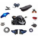 Элементы кузова мотоцикла