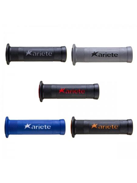 Ручки руля (комплект) Ariram 22-25мм/120мм, открытые