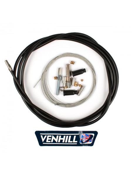 Универсальный мототросик газа Venhill (235 см, оплетка 6мм.)