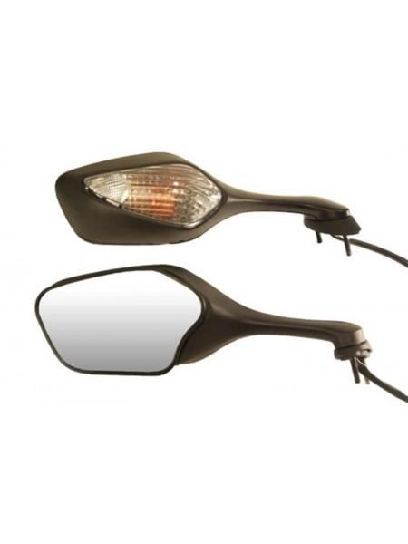 Зеркало левое на CBR1000RR 08-09 с поворотником