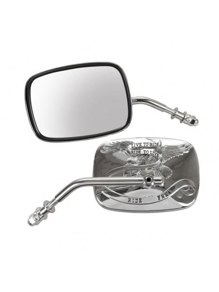 Зеркало левое на Harley-Davidson