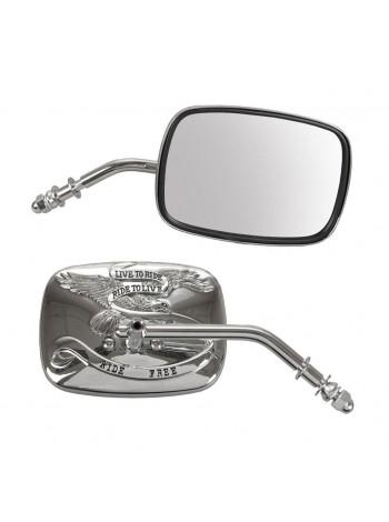 Зеркало правое на Harley-Davidson