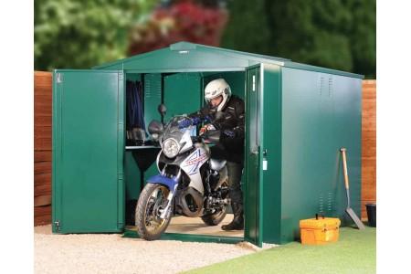 Где хранить мотоцикл, если нет гаража