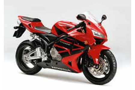Мотоцикл Honda CBR600RR: обзор