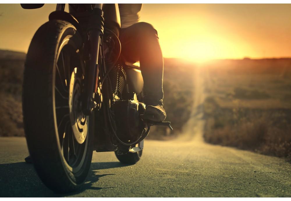 Особенности перенесения жары для мотоциклиста