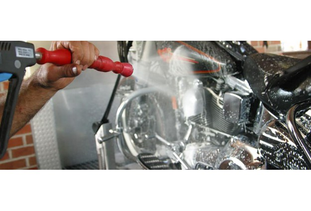 Как правильно мыть мотоцикл?